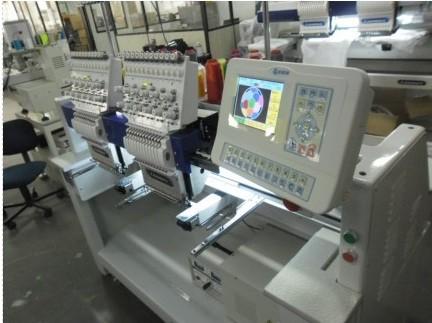 Bordadeira Industrial 2 cabeças e 12 agulhas Lanmax LM-Y212-P
