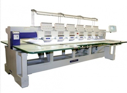 Bordadeira Industrial 6 cabeças e 12 agulhas Lanmax LM-B612HS-P