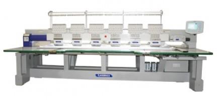 Bordadeira Industrial 6 cabeças e 12 agulhas Lanmax LM-B-0612-P