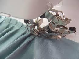Calcador ruffler para fazer pregas em máquinas de costura domésticas