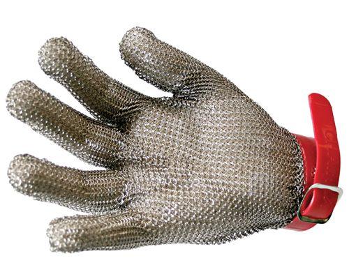 Luva de Aço para Operar Máquina de Cortar Tecidos