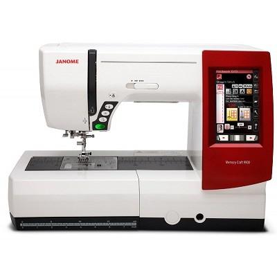 Máquina de Bordar e Costurar Janome 9900