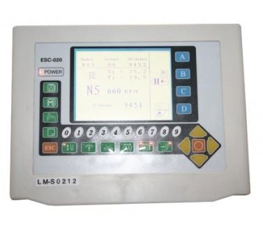 Máquina de Bordar Industrial Lanmax 1 cabeça e 12 agulhas LM-S0112-C