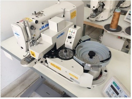 Máquina de Costura Botoneira Eletrônica Automática Juki