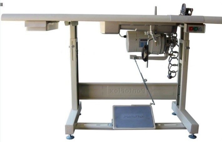 Máquina de Costura Galoneira Cilíndrica Eletrônica com Refilador Lanmax LM-42500-35EPH