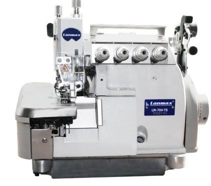 Máquina de Costura Interlock Bitola Larga com Transporte Superior Lanmax
