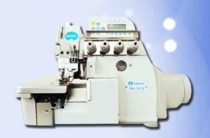 Máquina de Costura Overlock Eletrônica Sansei SA-737S