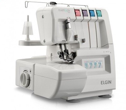 Máquina de Costura Overlock Elgin