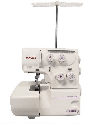 Máquina de Costura Overlock Janome 8002D