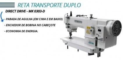 Máquina de Transporte Duplo Direct Drive Megamak