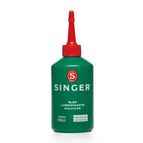 Óleo para Máquinas de Costura Domésticas e Industriais marca Singer Bisnaga com 100ml