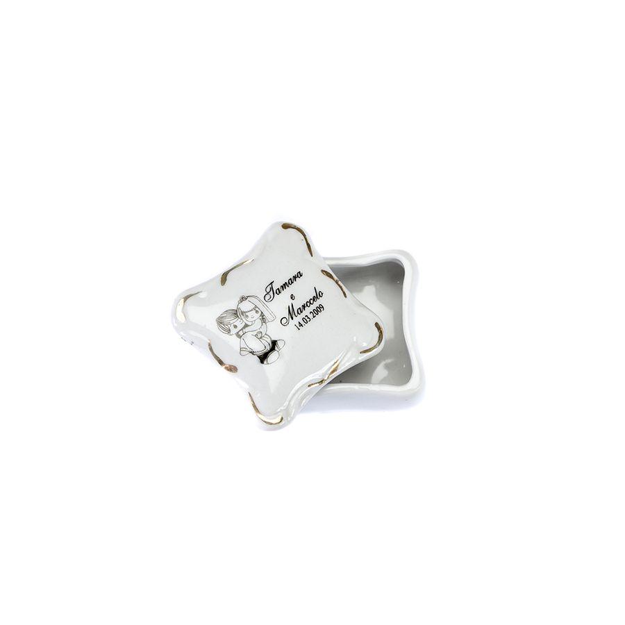 Porta jóia Personalizado Quadrado