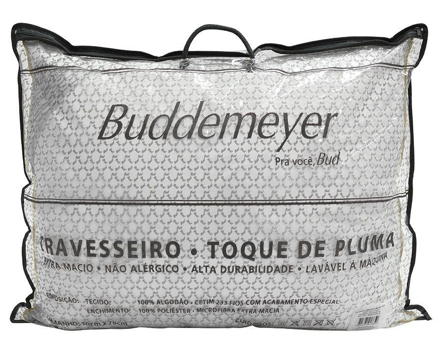 TRAVESSEIRO 50x70 cm TOQUE DE PLUMA BUDDEMEYER