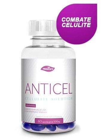 Anticel Take Care 60 Caps - Ajuda A Combater A Celulite