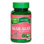 Ágar-Ágar 100% Vegetal 60 Cápsulas 600mg - Unilife