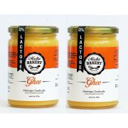 Kit 2 Manteiga Ghee 300g  Tradicional Clarificada Zero Lactose Zero Gluten
