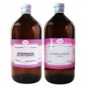 Kit Propilenoglicol Usp 1 Lt + Glicerina Vegetal Usp 2 Lt C/ Laudo Pureza Synth