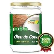 Óleo De Côco Extra Virgem 500 ml - Prensado a Frio