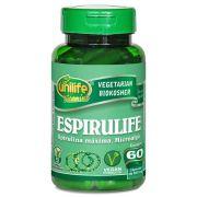 Spirulina Pura Espirulife 60 Cápsulas 500mg - Unilife