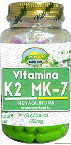 2x Vitamina K2 Mk7 Menaquinona 60 Cápsulas