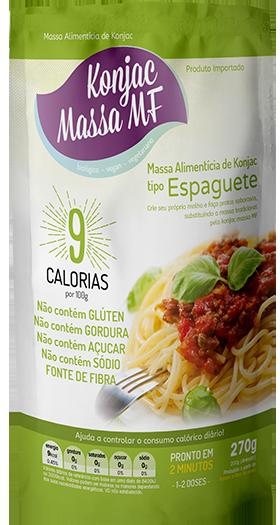 3 Espaguete Milagroso Konjac  270g 9 Kcal Emagreça Comendo