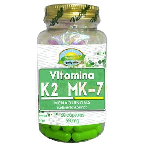 6x  Vitamina k2 Mk7 60 Caps Menaquinona