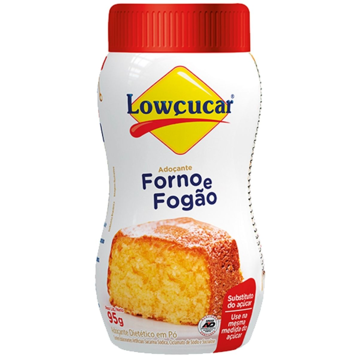 Adoçante Forno e Fogão Dietético 95g - Lowçúcar