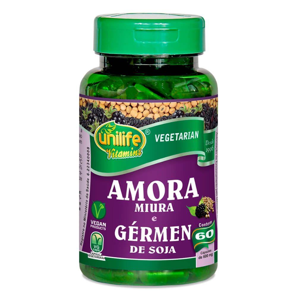 Amora Miura C/ Gérmen de Soja 60 Cápsulas - Unilife