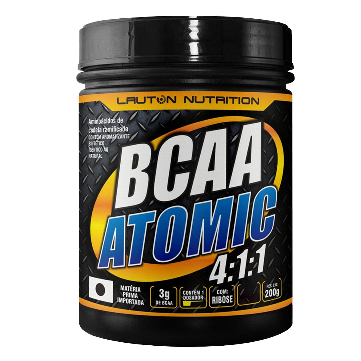 BCAA Atomic 4:1:1 200g - Lauton Nutrition