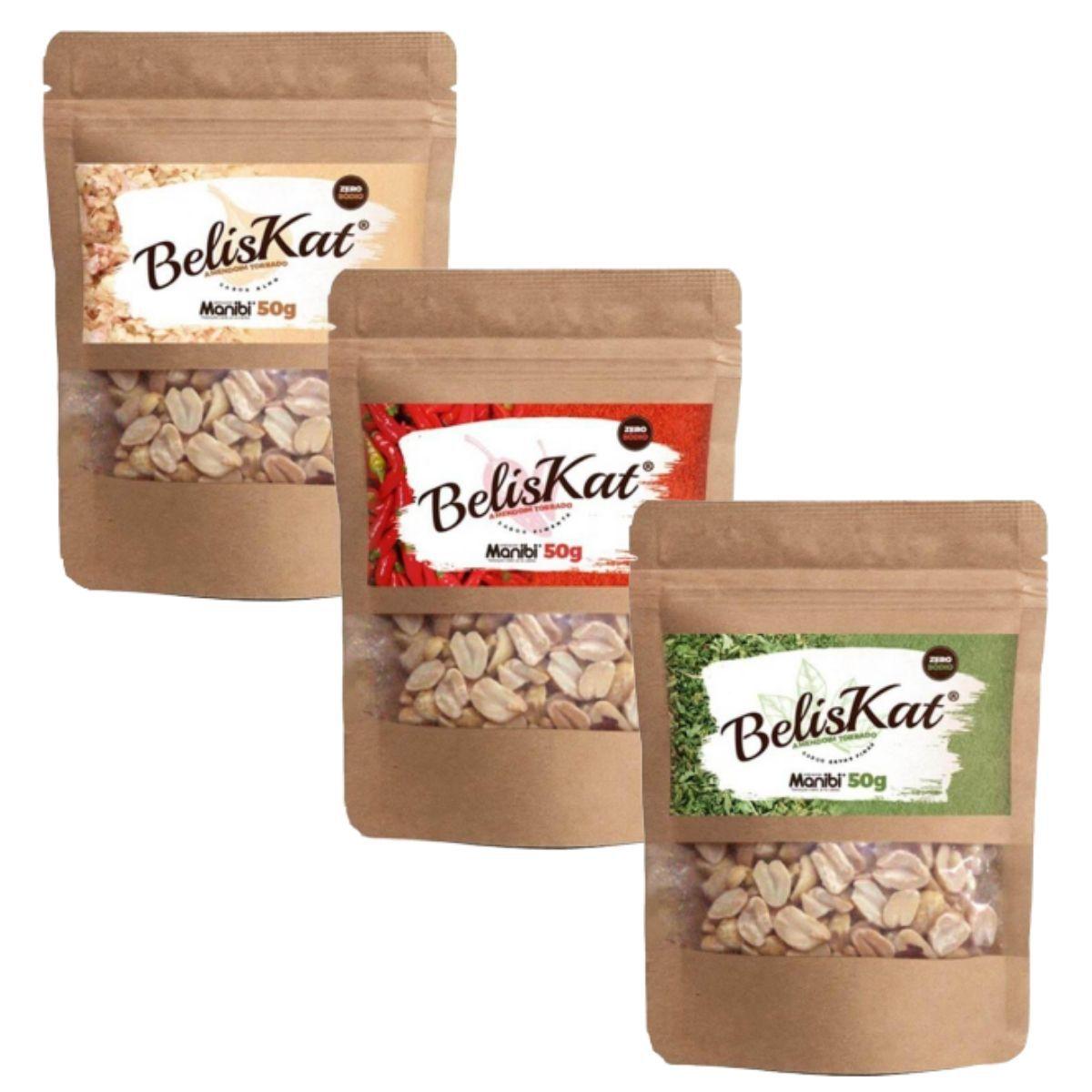Beliskat - Amendoim Torrado Snack 50g - Manibi