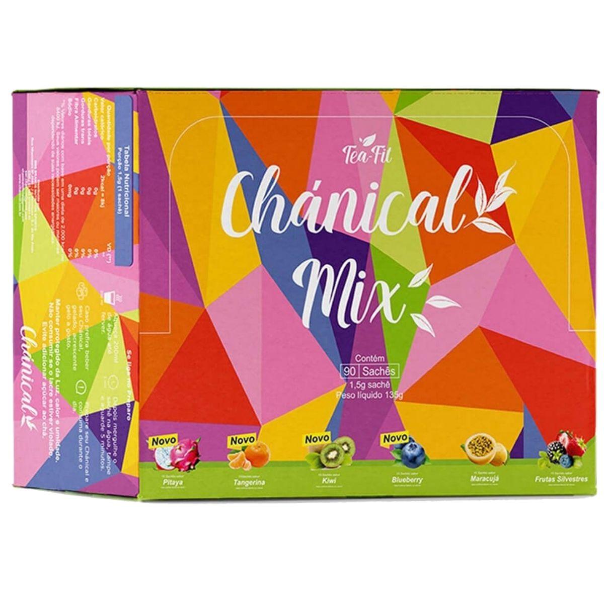 Chánical Mix de 6 Sabores (90 sachês) Tea Fit