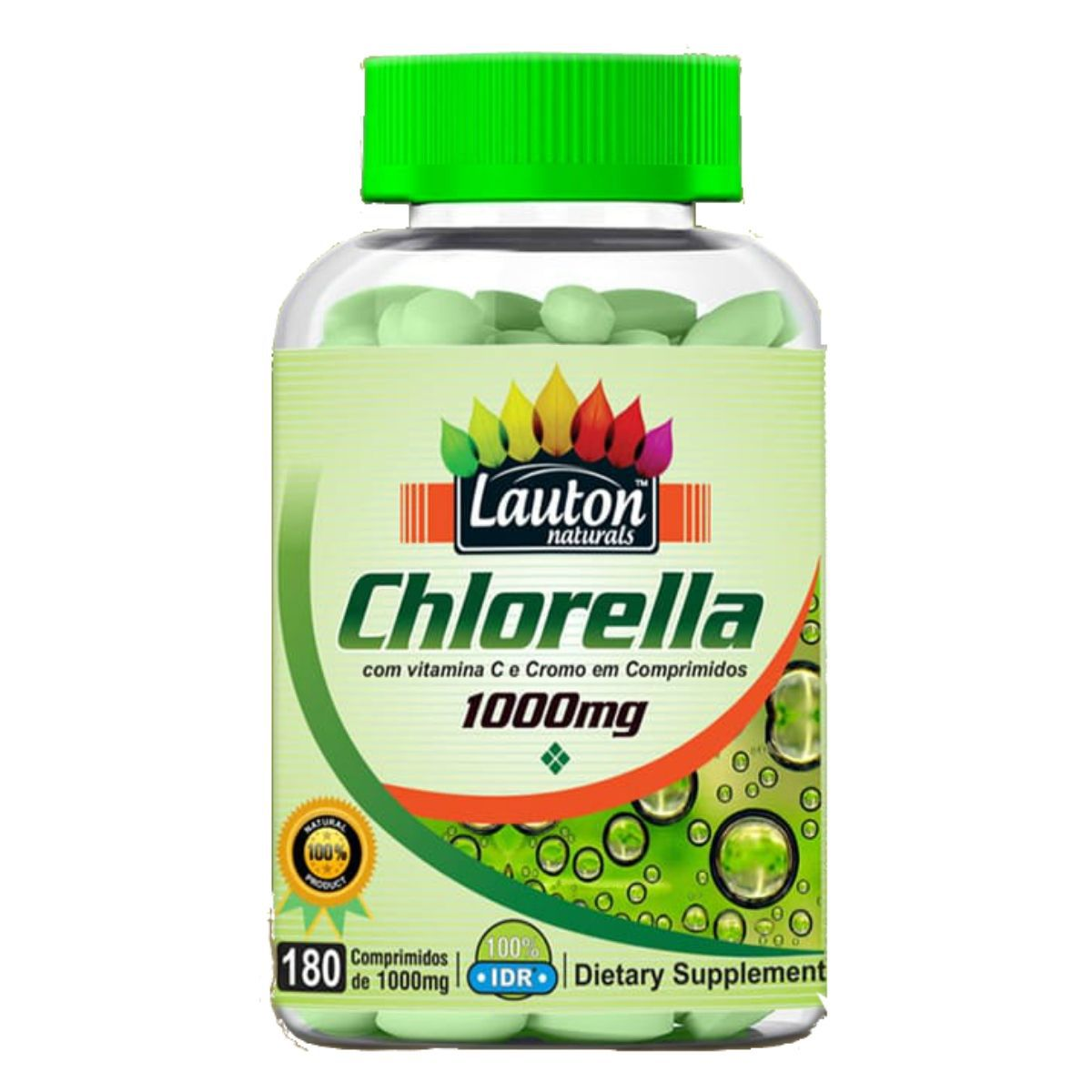 Chlorella Lauton Nutrition 1000mg 180 Comprimidos