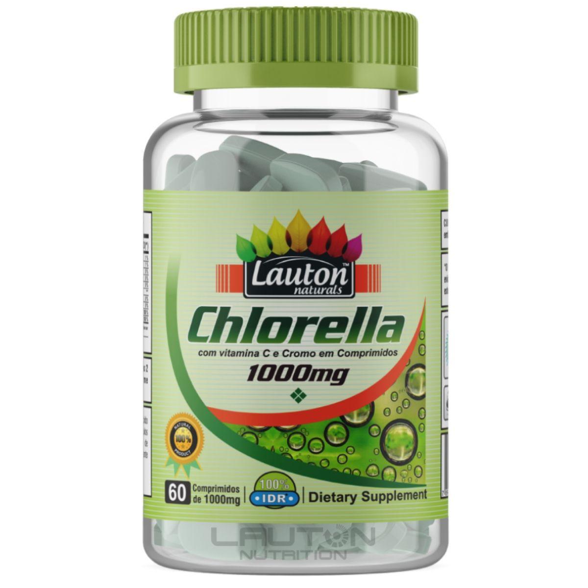 Chlorella Lauton Nutrition 60 Comprimidos 1000mg