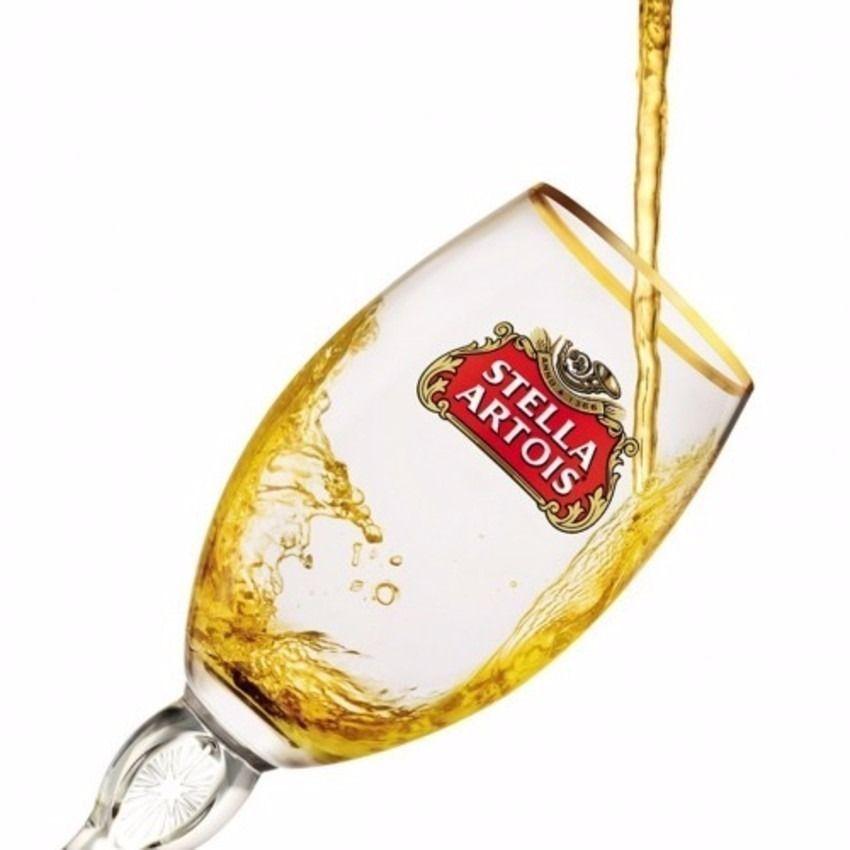 Copo Stella Artois Taça Cerveja 250 ml Litografada Original