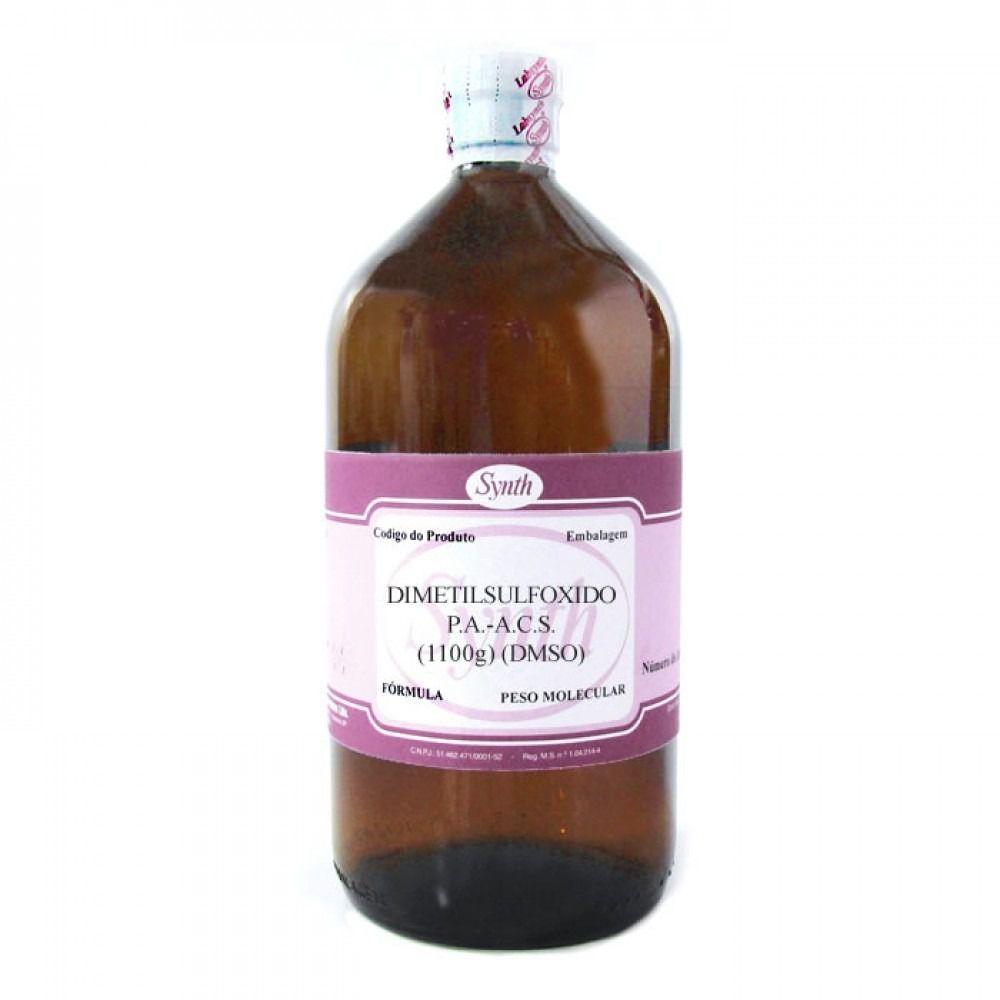 Dimetilsulfoxido Pa 99% ( Dmso ) 1 Litro  - C/ Laudo Synth