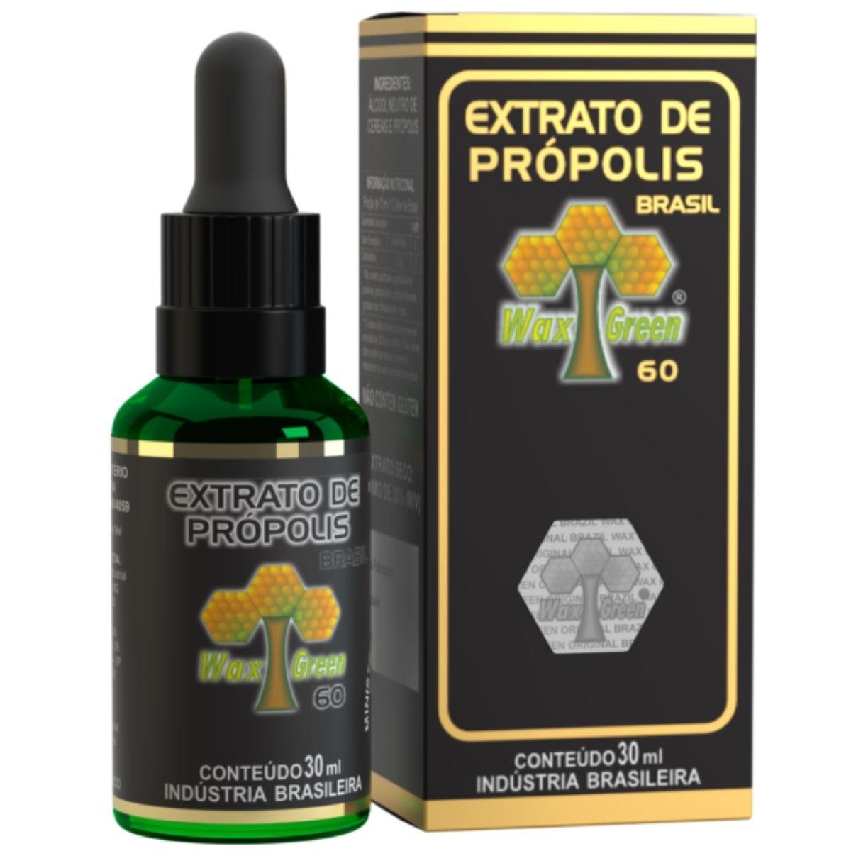 Própolis Verde 30% Extrato 30ml - Wax Green