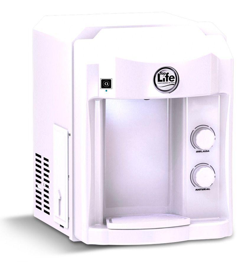 Filtro Purificador Alcalino e Ionizado Com Ozônio Top Life - Branco 110V - Frete Grátis
