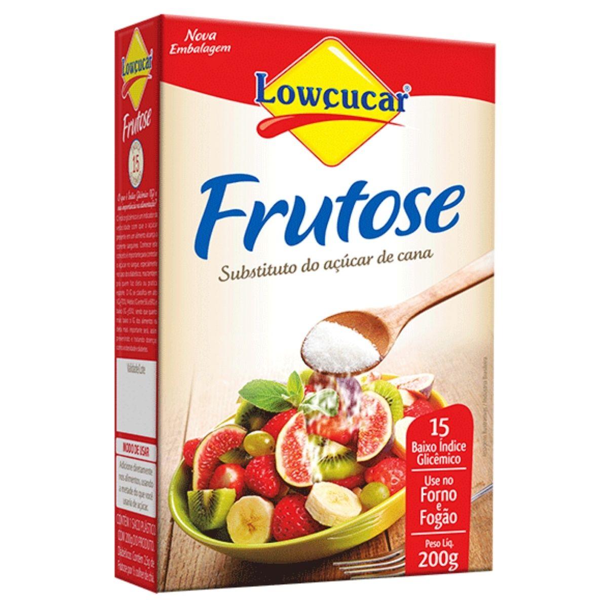 Frutose Substituto Do Açúcar 200g - Lowçucar