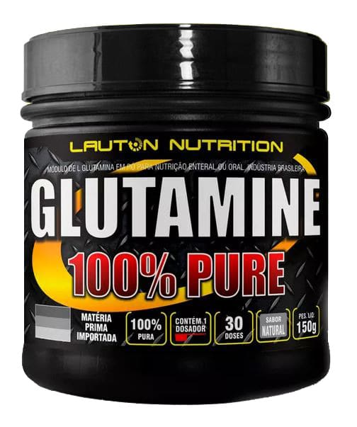 Glutamina Power 100% Pura 150g - Lauton Nutrition
