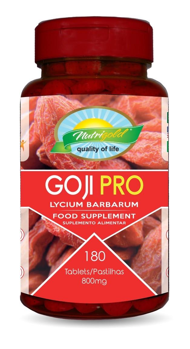 Goji Pro Pote 180 Comprimidos 800mg