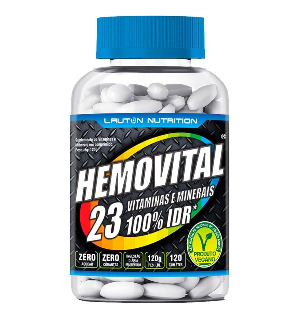 Hemovital Polivitamínico 100% IDR 120 Tabs - Lauton Nutrition