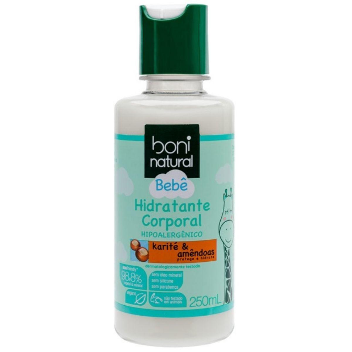 Hidratante Corporal Bebê Boni Natural Karité & Amêndoas 250ml