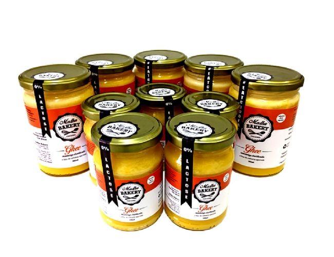 Kit 12 Manteigas Ghee 500g Tradicional Clarificada Zero Lactose
