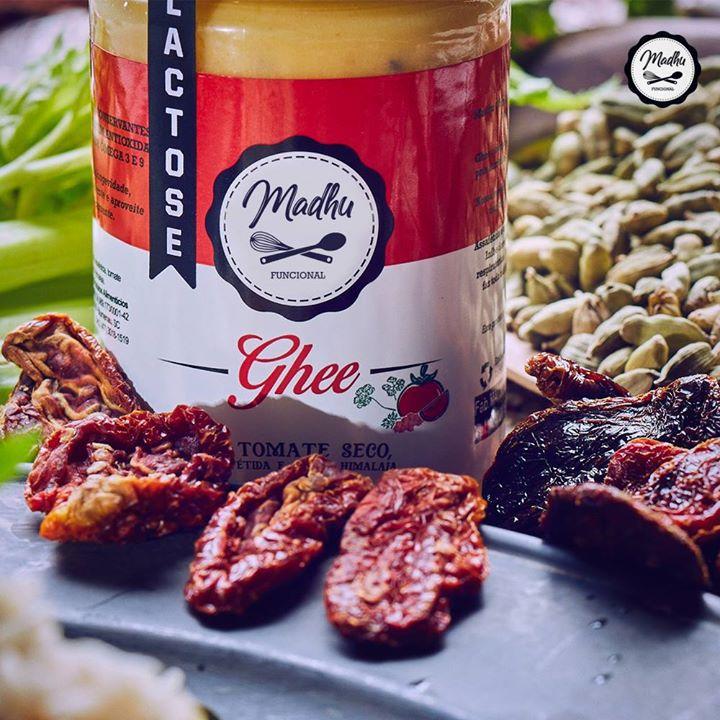 Kit 2 Manteiga Ghee 300g Tomate Seco Clarificada Zero Lactose Zero Gluten