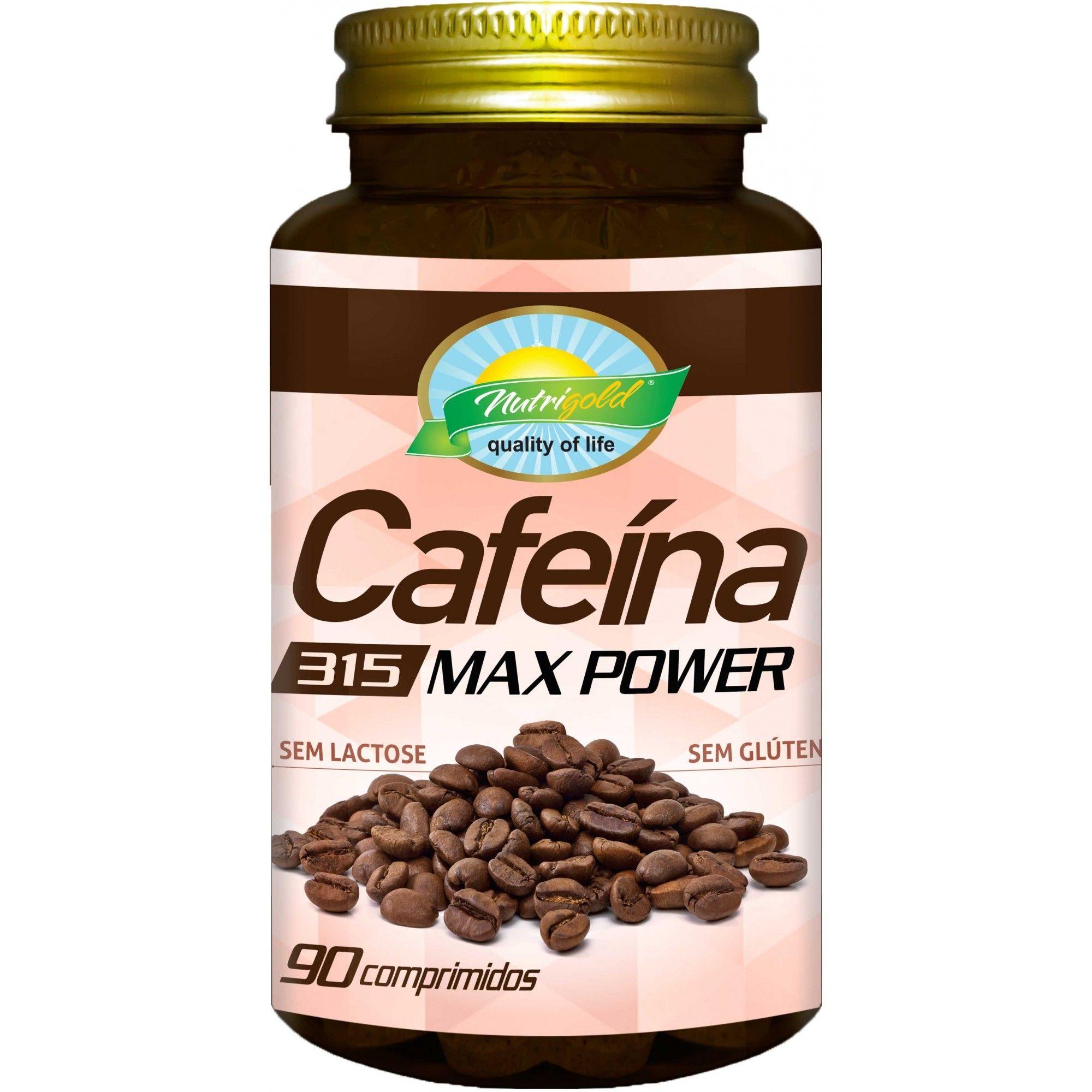 Kit 3 Cafeína 90 Comprimidos 315mg  Max Power