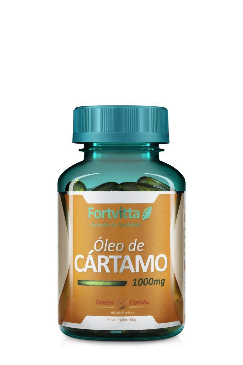 Kit 6 Óleo de Cártamo 120 Cápsulas 1000Mg Fortvitta