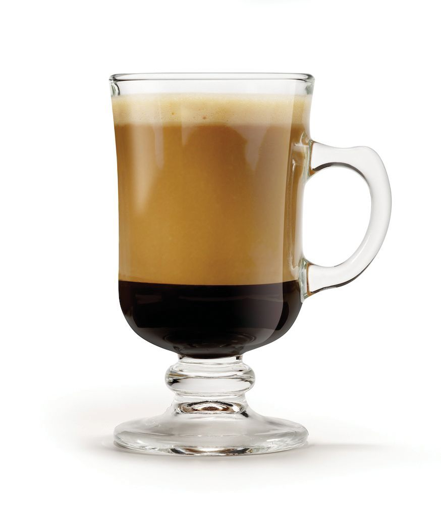 Kit 6 x Taça Mini Bill Lisa Xícara P/ Café Cappuccino 120 ml