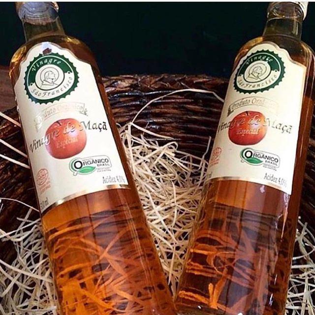 Kit 7 Vinagres Organico São Francisco 500ml Acidez 4%