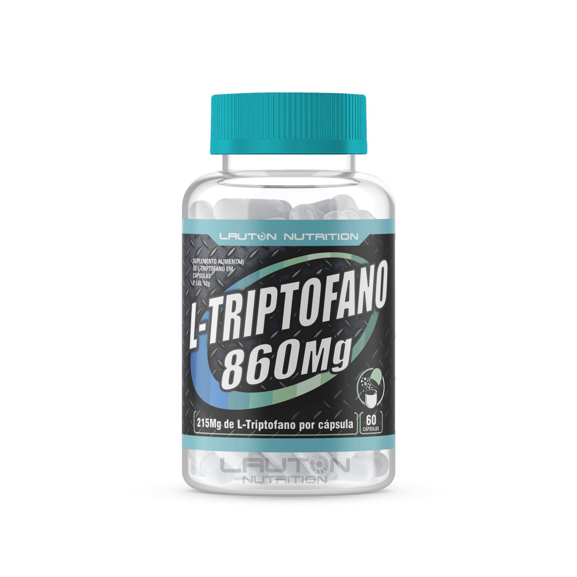L-triptofano 120 cápsulas Lauton Nutrition