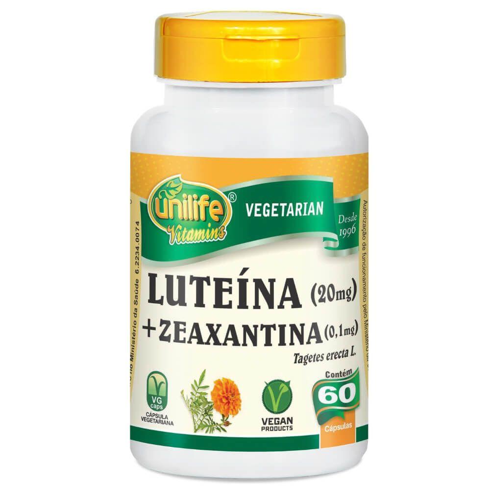 Luteína e Zeaxantina 60 Cáps - Unilife